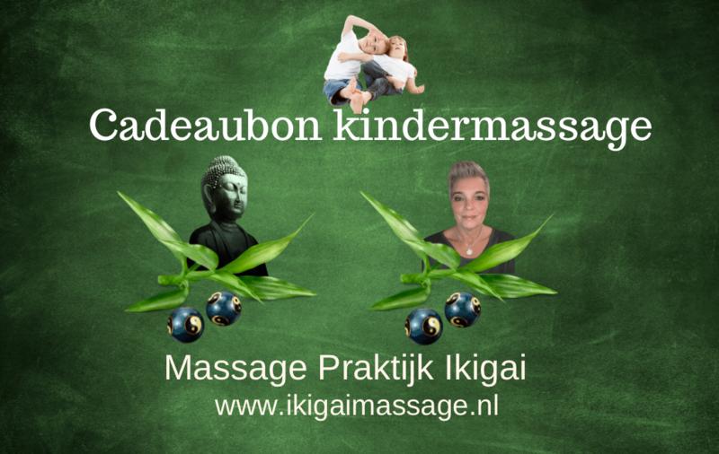 Cadeaubon Kindermassage