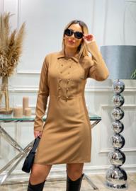 BWF Beige jurk CTN Collection