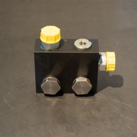 Aansluitblok compressor