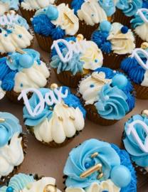 Naam cupcaketoppers - prijs vanaf