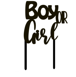 Taarttopper Boy or Girl