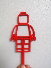 Taarttopper Legofiguur