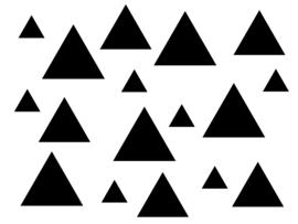Confetti driehoekjes