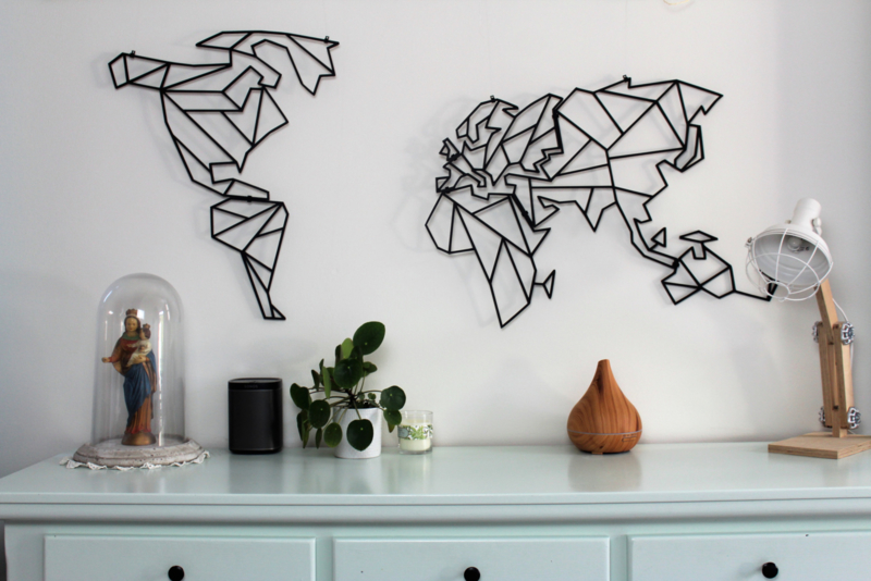 Wereldkaart Geometrisch