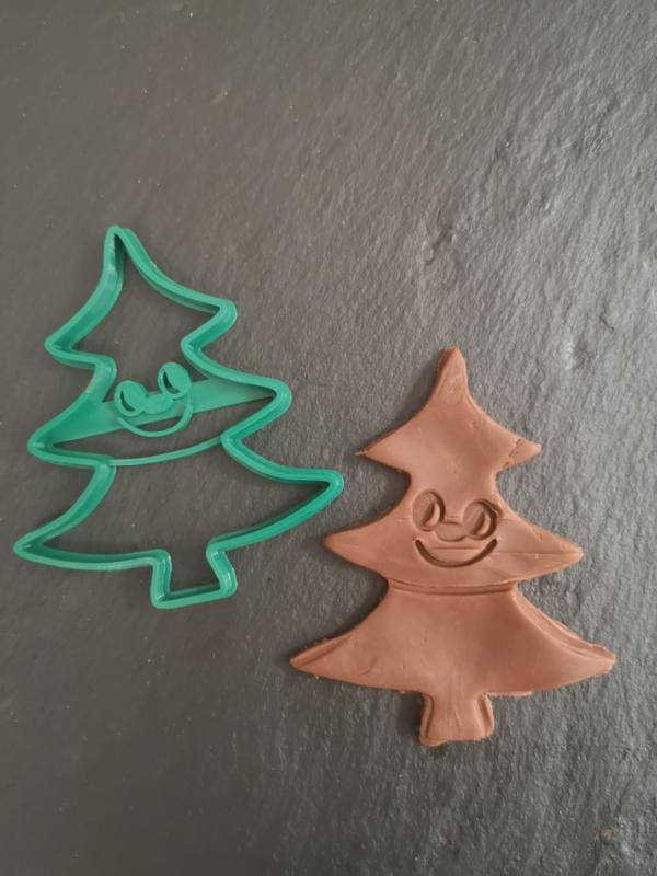 Koekuitsteker kerstboom