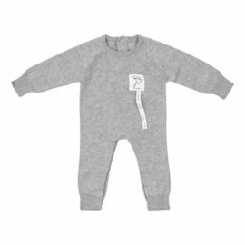 Baby deLuxe: Pyjamapakje gebreid grijs