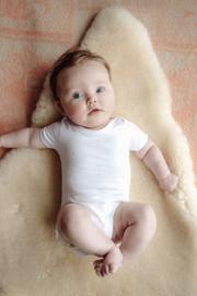 Baby deLuxe: Romper Palmtree - White