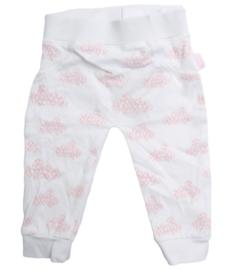 Tibot+Bodil: broekje wolken/roze