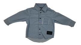 Mini Kid: Blauwe Blouse - Denim