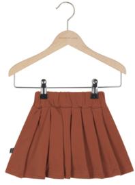 House of Jamie: Pleated skirt Rust