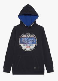 Petrol: B-1000-SWH300 hoodie blue