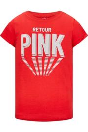 Retour Jeans: T-shirt Drancy - Poppy Red