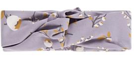House of Jamie: Turban Headband Floral Dusty Lilac