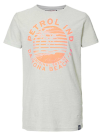 Petrol: T-shirt - Bright White