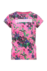 Raizzed: T-shirt Madrid - Multicolor Pink