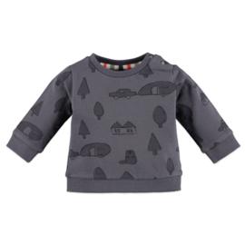Babyface: Jongens sweater - Shadow