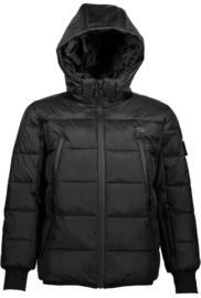 SuperRebel: Ski-snowboardjas zwart R909-6284