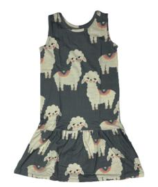 Dear Sophie: LLama - grey dress
