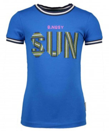 B.Nosy: T-shirt Sun - Blauw