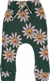 Dear Sophie: Green Daisy Pants