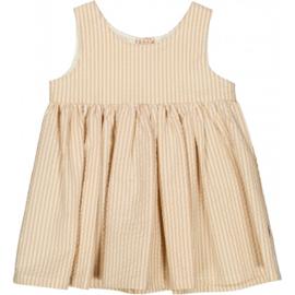 Wheat: Pinafore Wrinkles - Taffy Stripe