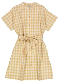 Wheat: Dress Nilla - taffe check