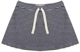 Little Indians: Skirt striped - zwart-wit