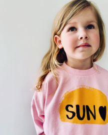 Little Man Happy: Sunrise cropped sweater