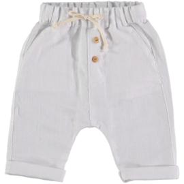 Petit Indi: Pants - White