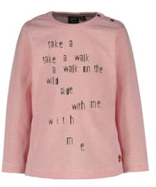 Babyface: Longsleeve Take a walk with me - Pink