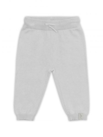 Jollein: Pants pretty knit soft grey