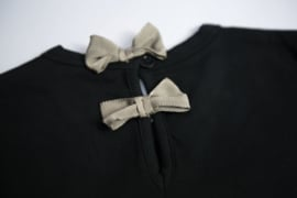 Noeser: malou shirt bow black magic