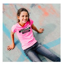 Raizzed: T-shirt Atlanta - Neon Pink