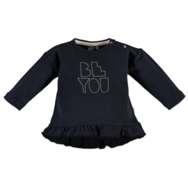 Babyface: 'Be You' Longsleeve - Black/Navy