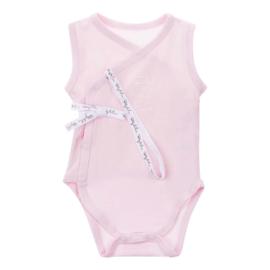 Baby de Luxe: romper mouwloos roze