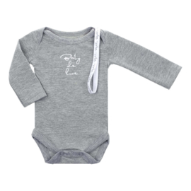 Baby de Luxe: Romper grijs