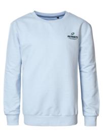 Petrol: Sweater logo artwork - Aqua