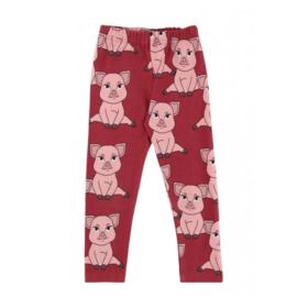 Dear Sophie: Piggy Red Leggings