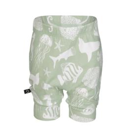 Noeser: Pelle Balloon Shorts Underwater Mint