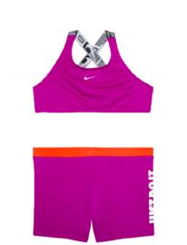 Nike: Crossback Sport Biki - Paars