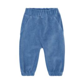 Pippi: Velours Pants - Blue