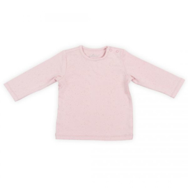 Jollein: Shirt longsleeve mini dots blush pink