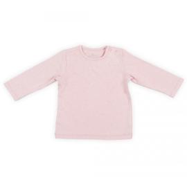 Jollein: Shirt longsleeve mini dots - blush pink