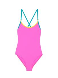 SUNDEK: mini ana swimsuit/cotton candy