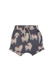 Dear Sophie: Llama Grey Shorts