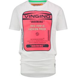 Vingino: T-shirt Hagi Real White