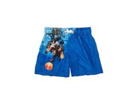 Sundek: Zwembroek met zwemmende hond