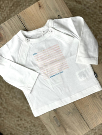 Noppies: T-shirt Long sleeve- Summer White