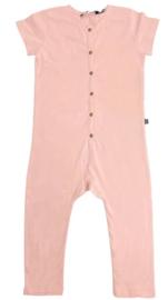 House of Jamie: Laidback Jumpsuit - Powder pink