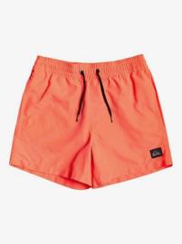 Quiksilver: Jongens Zwembroek - Neon Oranje/Roze